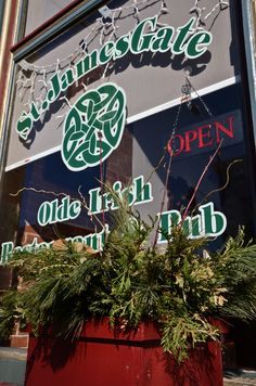 James Gate in Carleton Place, Ontario, Canada - Amazing food and drink Carleton Place, Ottawa Valley, Ontario, Gate, Scotland, Neon Signs, Canada, Restaurant, Spaces