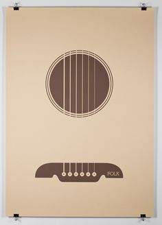 Minimal music posters.