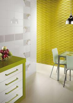 Product: #wall #tile BLANCO BRILLO, setting: #kitchen