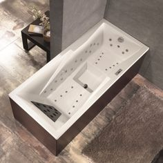 ecke whirlpool badewanne f r zwei sauna pinterest. Black Bedroom Furniture Sets. Home Design Ideas