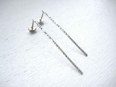 NENE Pierced Earring bico http//:bico.in #Contemporary jewelry #design #pierced earring