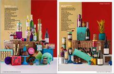 Hampers from #Fortnum&Mason #Christmas brochure #Hampers