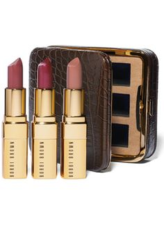 Bobbi Brown - Holiday Lip Trio http://rstyle.me/n/sak9rnyg6