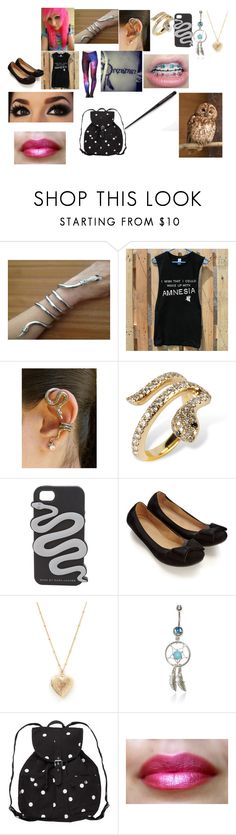 """In Love With Harry Potter's Sister?! ~Draco Malfoy~ Ashlynn School Shopping"" by mysterygirl227 ❤ liked on Polyvore featuring Nayla Arida, Marc by Marc Jacobs, Accessorize and Monki"