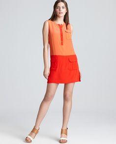 Rachel Zoe Colorblock Dress