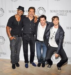 Morgan, Rossi, Hotch, and the amazing Dr. Reid!