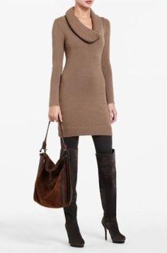 Need a sweater dress!