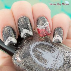 Enchanted Polish Seven Nation Army over some black, white, and red chevrons.