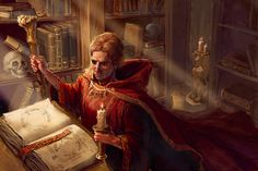 Wizard by thegryph.deviantart.com on @deviantART