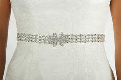 Silver Crystal Belt Code: BELT 70