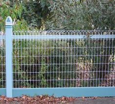 Ornamental Loop Fence Decorative Woven Wire Fencing Galvanized Metal Wire Fence Fences And