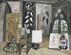 """Pablo Picasso, """"L'Atelier de Californie"""", (1956) © RMN-Grand Palais (musée Picasso de Paris) / Jean-Gilles Berizzi © Succession Picasso 2015 - Pablo Picasso, """"L'Atelier de Californie"""", (1956) © RMN-Grand Palais (musée Picasso de Paris) / Jean-Gilles Berizzi © Succession Picasso 2015"""