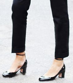 Finally! A Chic Heel for Women Who Hate Wearing Heels via @WhoWhatWear. Dream shoes. <<<<3