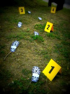 Crime scene - Knowing something bad has happened and being strangely drawn into, wanting to piece it together but never being certain.