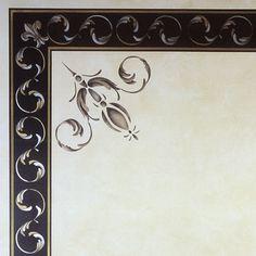Stencils | Palazzo Scroll Border Stencil | Royal Design Studio Stencils