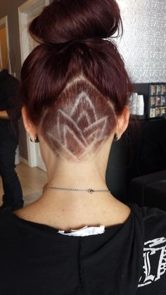 Here\u0027s my Lotus flower undercut from last month. Any ideas for next month?