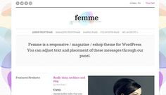 Download Femme v1.2 Cssigniter Wordpress Theme - Theme Lock