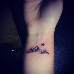 nice Top 100 mountain tattoo - http://4develop.com.ua/top-100-mountain-tattoo/ Check more at http://4develop.com.ua/top-100-mountain-tattoo/