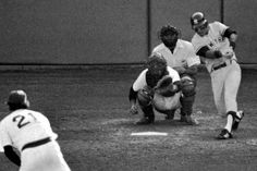"""On this day in 1978 New York Yankees SS Bucky Dent goes... """"Deep to left! Yaztrzemski will not get it, it's a home run! A three-run home run for Bucky Dent and the Yankees lead by a score of 3-2!"""" -Bill White"""