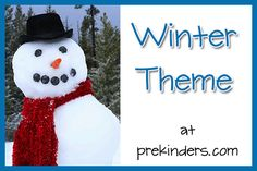winter preschool theme