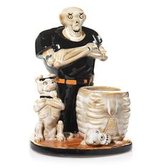 Boney Bunch Skull Cracker : Votive Holder : Yankee Candle