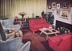 1950s Living Room - Heywood Wakefield by American Vintage Home, via Flickr