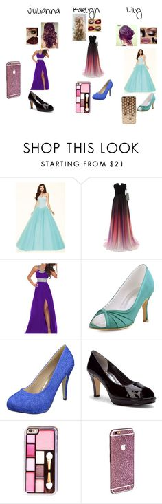 """Prom with the best ppl in the world"" by xofabkaelynxo ❤ liked on Polyvore featuring beauty, Retrò and Walking Cradles"