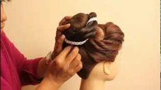 Indian Bridal Hairstyles by estherkinder