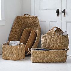 I love the Braided Storage Collection on westelm.com