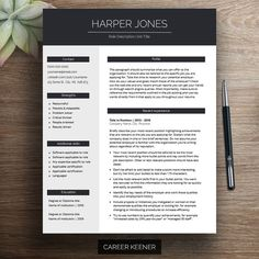 professional resume template cv template chronological resume cover letter references two page resume modern resume curriculum vitae - 57 Cv Is A Resume Helpful