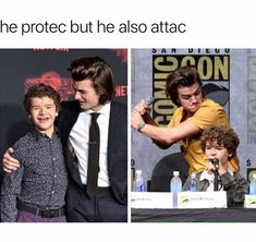 But most importantly he got Dustin's bacc