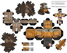 Wall-E Cubeecraft