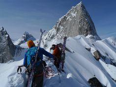Negotiating the Crescent Traverse - Bugaboos Bugaboo, Ski And Snowboard, Mount Everest, Skiing, Mountains, Nature, Travel, Ski, Naturaleza