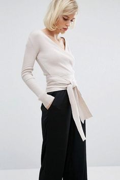 The Ballerina-Inspired Wrap Top We Love | Le Fashion | Bloglovin'