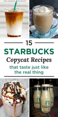 To save some money and time, skip the trip and make your favorite drink at home! We've found 15 Starbucks copycat recipes that taste like the real thing.
