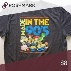 "Toy story ""Made in the 90's"" tee 2XL Toy story ""Made in the 90's"" tee 2XL Shirts Tees - Short Sleeve"