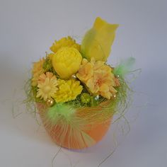 Menší citrusová kytička Citrus soap bouquet - small Bouquet, Soap, Bouquets, Floral Arrangements, Soaps, Nosegay
