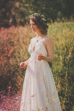 J. Crew gown. simple and beautiful