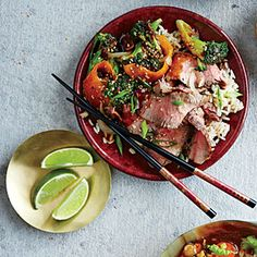 Five-Spice Orange Beef and Broccoli | CookingLight.com #myplate, #protein, #veggies