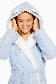 Faux Fur Fluffy Robe - New In Lingerie & Nightwear - New In - Topshop Cute Lounge Outfits, Pj Day, Fashion Outfits, Womens Fashion, Fashion Trends, Fashion Clothes, Cute Sleepwear, Dress Brands, Faux Fur