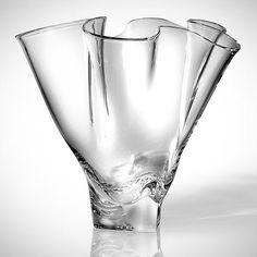 Steuben Glass Handkerchief vase