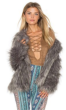 Park Ave Faux Fur Jacket