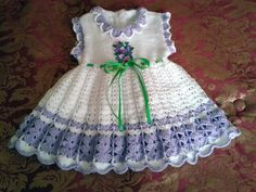 Hey, I found this really awesome Etsy listing at https://www.etsy.com/listing/186296227/crochet-baby-dress
