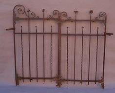 Cool Custom Antique Wrought Iron Fence