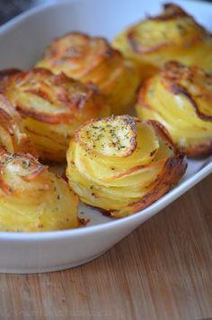 Millefeuilles de pommes de terre - Le blog de C'est Nathalie qui cuisine