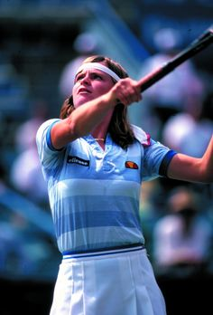 Hana Madlikova, #tennis, 1980's