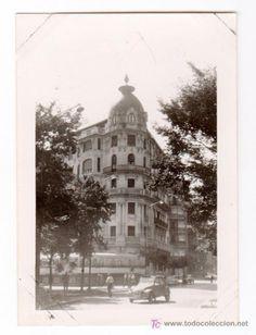 Fotografía antigua: FOTOGRAFIA ANTIGUA DE SAN SEBASTIAN. HOTEL HISPANO-AMERICANO. 1962 - Foto 1 - 13784861