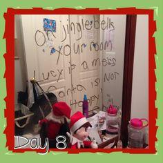 Clean your room Easy Elf on the Shelf Idea and 134 Simple Elf on the Shelf Ideas