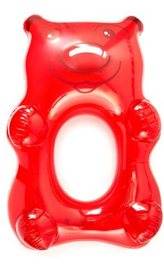 Gift Boutique Giant Red Gummy Bear Pool Float: How fun for the summer!