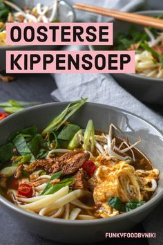 Healthy Slow Cooker, Healthy Soup, Easy Healthy Recipes, Veggie Recipes, Asian Recipes, Soup Recipes, Easy Meals, Ethnic Recipes, Indonesian Recipes